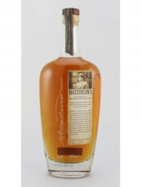 Masterson s 10 years Straight Rye Whiskey